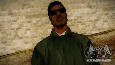 New Ryder Skin pour GTA San Andreas troisième écran