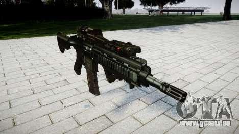 Gewehr HK416 CQB für GTA 4