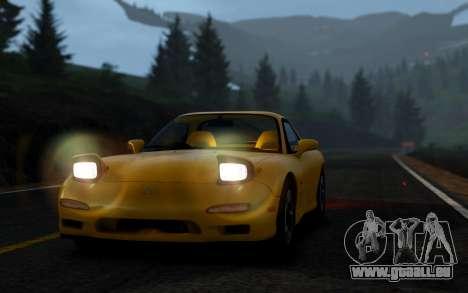 Mazda RX-7 1997 FD3s [EPM] pour GTA 4 est un droit