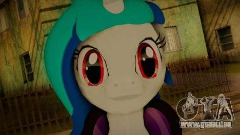 Vinyl Scratch from My Little Pony für GTA San Andreas dritten Screenshot