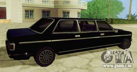 Admiral Limousine für GTA San Andreas linke Ansicht