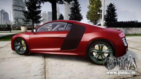Audi R8 V10 Plus 2014 pour GTA 4 est une gauche