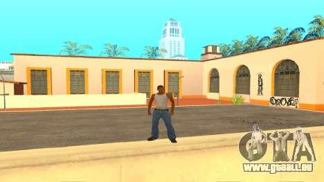 ColorMod v1.1 pour GTA San Andreas deuxième écran