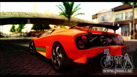GTA 5 Pegassi Infernus [HQLM] pour GTA San Andreas laissé vue