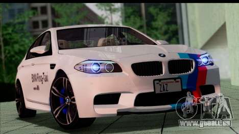 BMW M5 F10 2012 pour GTA San Andreas roue