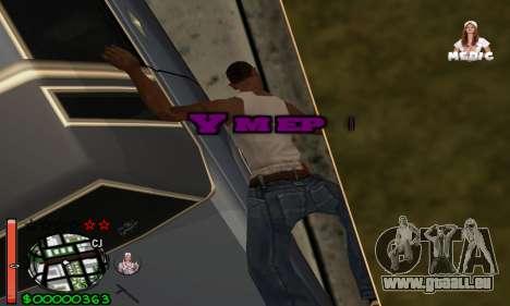 С-HUD Medic pour GTA San Andreas quatrième écran