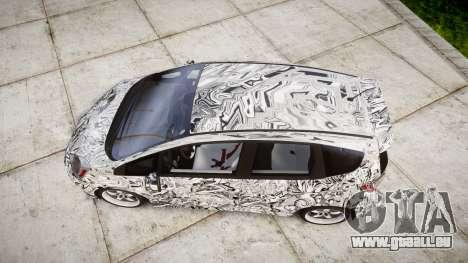 Honda Fit 2006 Sharpie für GTA 4 rechte Ansicht
