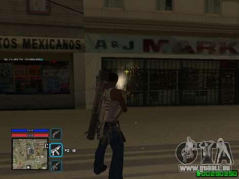 C-HUD Only Ghetto für GTA San Andreas her Screenshot