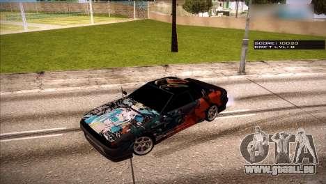 Vinyls pour Élégie pour GTA San Andreas cinquième écran