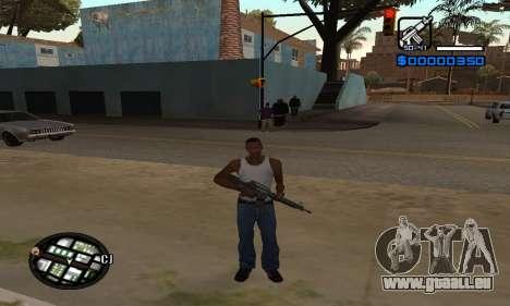 Samaro C-HUD pour GTA San Andreas