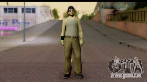 GTA San Andreas Beta Skin 6 für GTA San Andreas