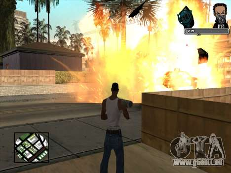 Marusya C-HUD pour GTA San Andreas troisième écran