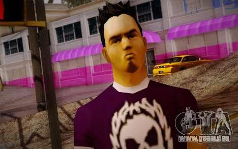 Ginos Ped 28 pour GTA San Andreas troisième écran