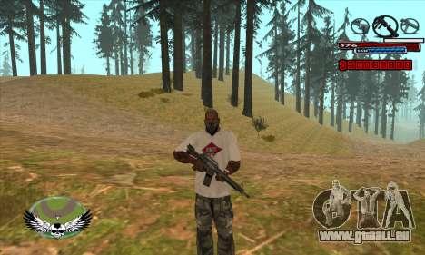 C-HUD by Kir4ik pour GTA San Andreas