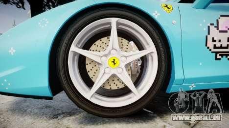 Ferrari 458 Italia 2010 v3.0 Purrari pour GTA 4 Vue arrière