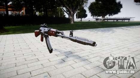 Die AK-47 Kollimator und Mündungsbremse für GTA 4