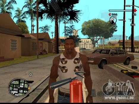 C-HUD Good pour GTA San Andreas cinquième écran