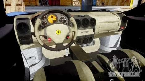 Ferrari F430 Scuderia 2007 plate Scuderia pour GTA 4 est une vue de l'intérieur
