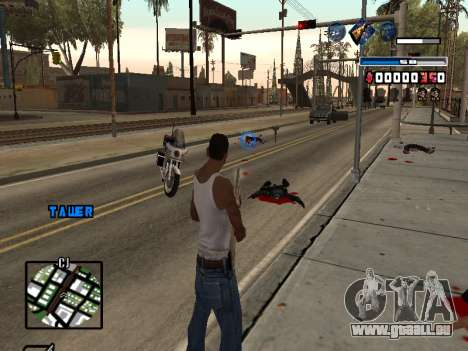 C-HUD Fantastik pour GTA San Andreas troisième écran