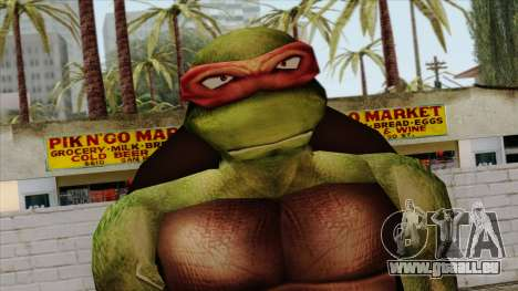 Raphaël (Teenage Mutant Ninja Turtles) pour GTA San Andreas troisième écran
