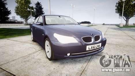 BMW 525d E60 2009 pour GTA 4