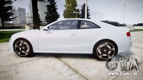 Audi RS5 2012 v2.0 pour GTA 4 est une gauche