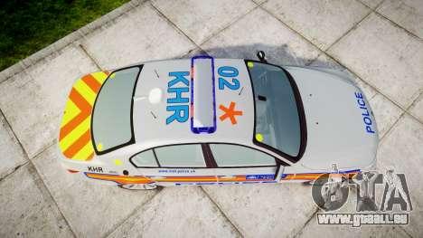 BMW 525d E60 2010 Police [ELS] pour GTA 4 est un droit