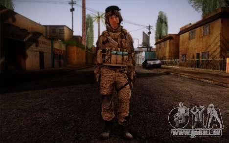 Campo from Battlefield 3 pour GTA San Andreas