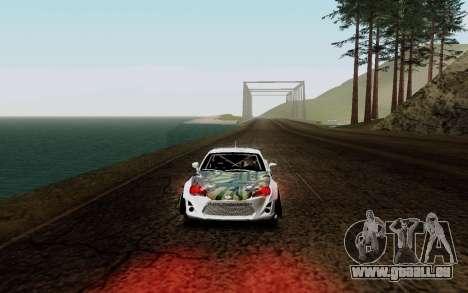 Subaru BRZ VCDT für GTA San Andreas linke Ansicht