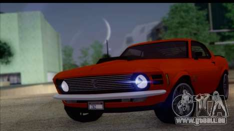 Ford Mustang Boss 429 1970 pour GTA San Andreas