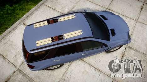 GTA V Benefactor Serrano 4x4 für GTA 4 rechte Ansicht