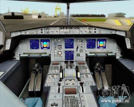 Airbus A330-300 Air Canada Star Alliance Livery für GTA San Andreas Innen