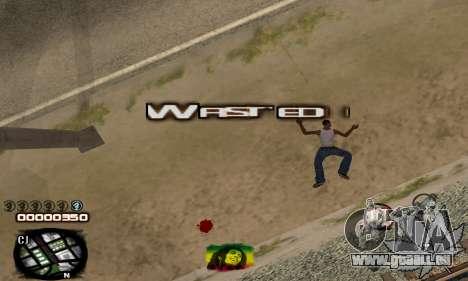 C-HUD Rasta für GTA San Andreas her Screenshot