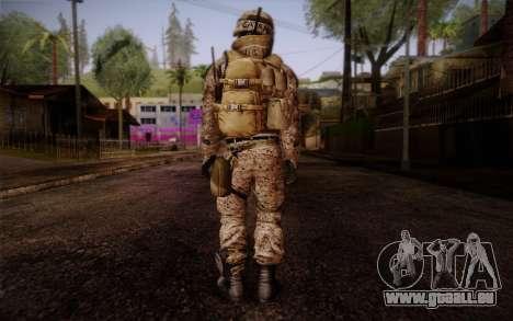 Campo from Battlefield 3 pour GTA San Andreas deuxième écran