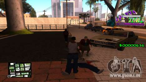 C-HUD Ghetto Tawer für GTA San Andreas