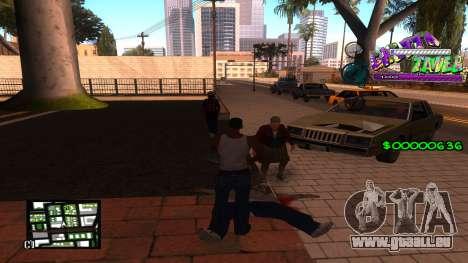 C-HUD Ghetto Tawer für GTA San Andreas