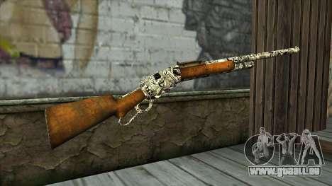 Nouveau Fusil pour GTA San Andreas deuxième écran