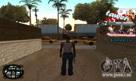 C-HUD Tawer GTA 5 pour GTA San Andreas deuxième écran
