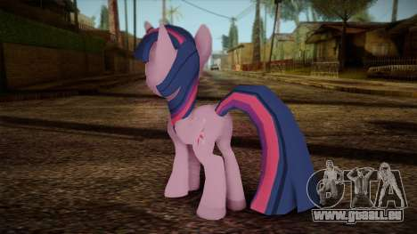 Twilight Sparkle from My Little Pony für GTA San Andreas zweiten Screenshot