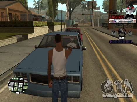 C-HUD Cesar Weezy für GTA San Andreas