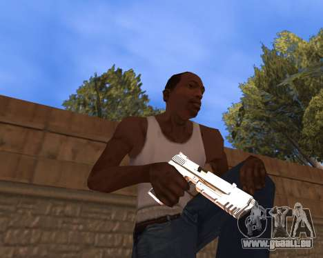 Clear weapon pack für GTA San Andreas zweiten Screenshot