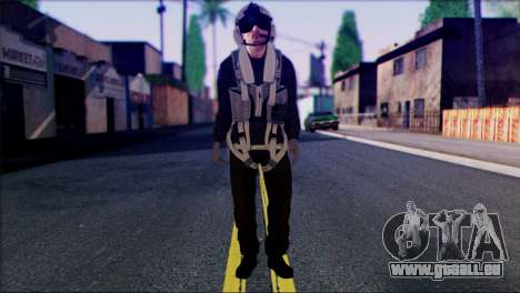 Russian Helicopter Pilot from Battlefield 4 pour GTA San Andreas