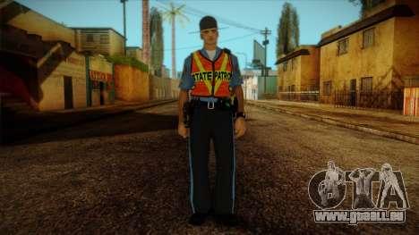 Missouri Highway Patrol Skin 1 pour GTA San Andreas