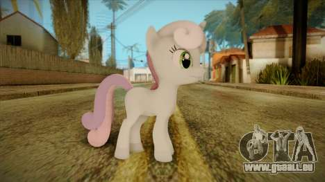 Sweetiebelle from My Little Pony für GTA San Andreas