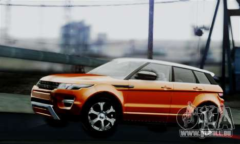 Range Rover Evoque 2014 für GTA San Andreas