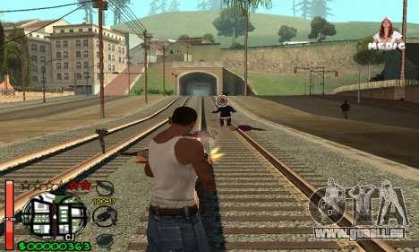 С-HUD Medic pour GTA San Andreas troisième écran