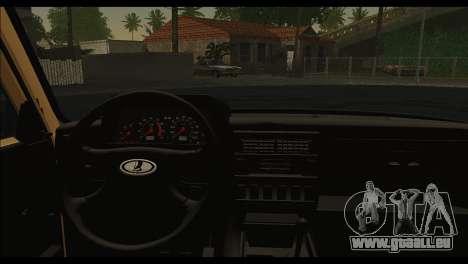 Lada 4x4 Urban pour GTA San Andreas sur la vue arrière gauche