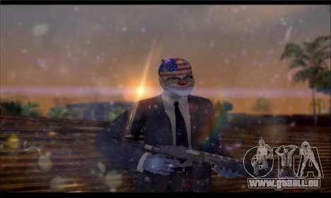 Corsar PayDay 2 ENB für GTA San Andreas fünften Screenshot