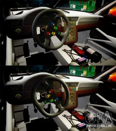 RUF RGT-8 GT3 [RIV] Nelris für GTA 4 obere Ansicht