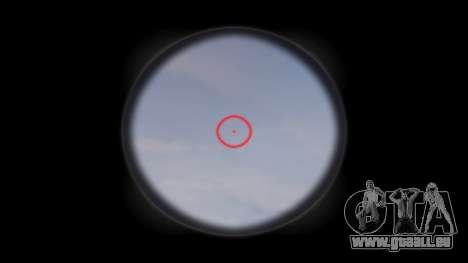 Fusil HK416 CQB cible pour GTA 4 troisième écran